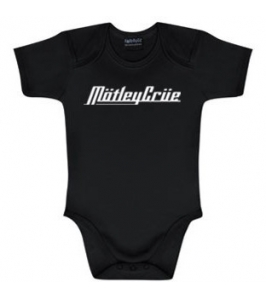 MOTLEY CRUE - Body de niño - Letras blancas