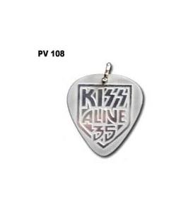 KISS - Púa - Colgante metálico - pv108