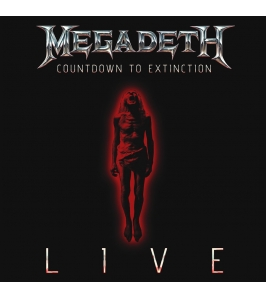 MEGADETH - Countdown to extinction live - DVD