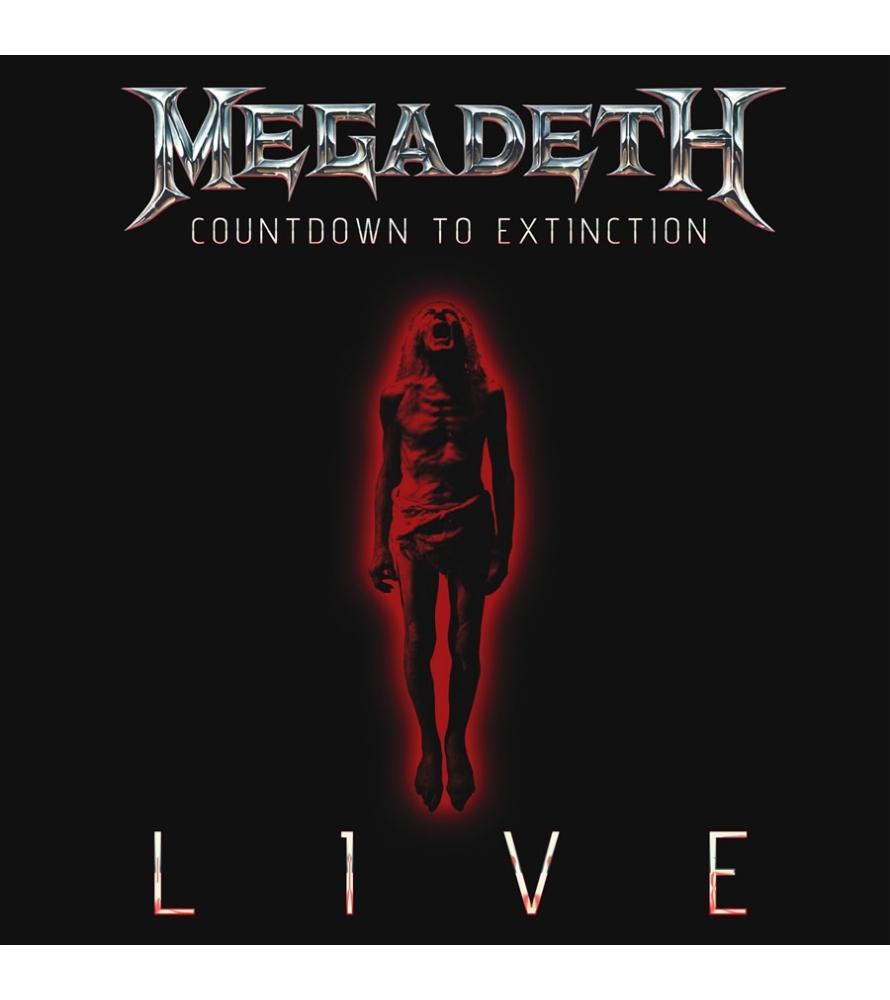 MEGADETH - Countdown to extinction live - DVD