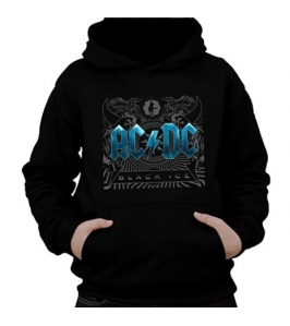AC/DC - Black ice blue - Sudadera