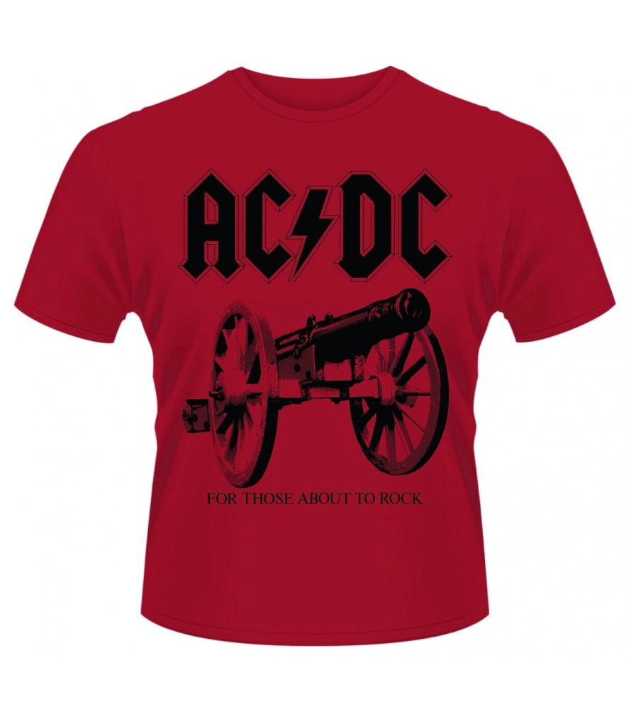 AC/DC - For those about to rock - Red