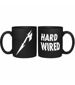 METALLICA - M hardwired - Mate - Taza