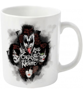 KISS - We are creatures of the night - Taza