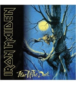 IRON MAIDEN - Fear of the dark - Llavero metálico