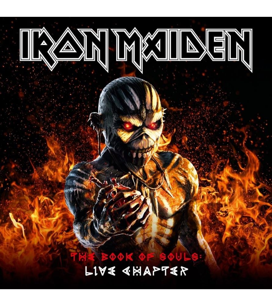 IRON MAIDEN - The book of souls - Live chapter - 2CD LTD