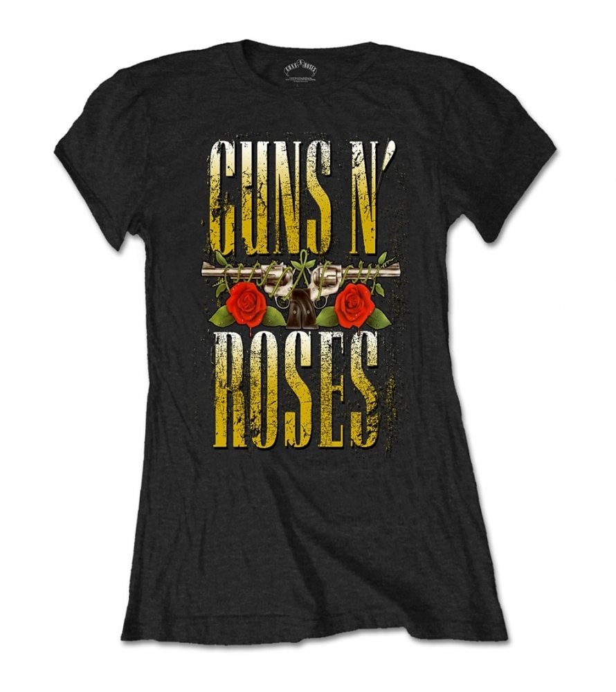 GUNS N ROSES - Big guns - Camiseta de chica