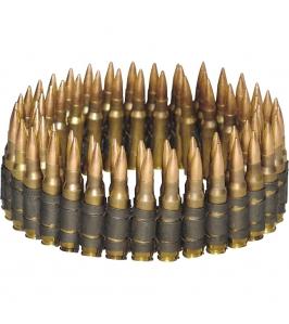 Cinturón de balas doradas