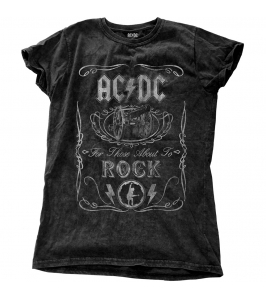 AC/DC - Cannon swig vintage - Snow wash - Chica