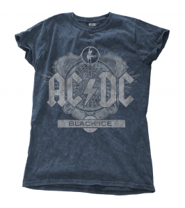AC/DC - Black ice with snow wash finishing - Chica