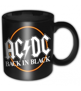 AC/DC - Back in black - Taza