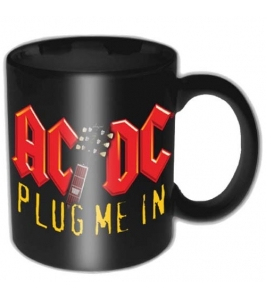 AC/DC - Plug me in - Mini taza