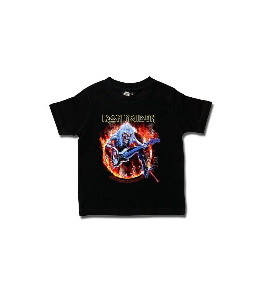IRON MAIDEN - Fear live flames - Camiseta de niño