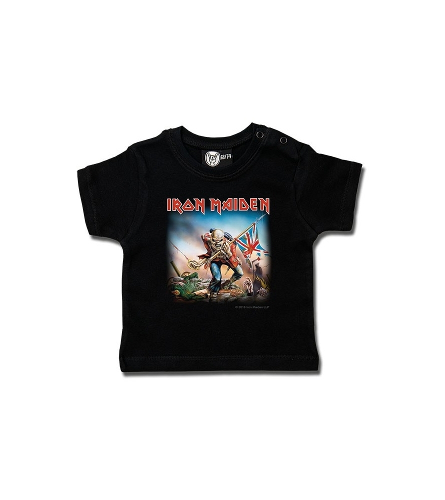IRON MAIDEN - The Trooper - Camiseta de bebé