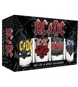 AC/DC - Black Ice - Pack vasos de chupito