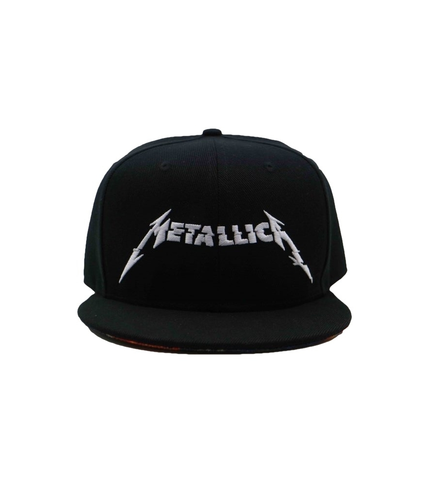 METALLICA -  HARDWIRED BLACK SNAPBACK - Gorra