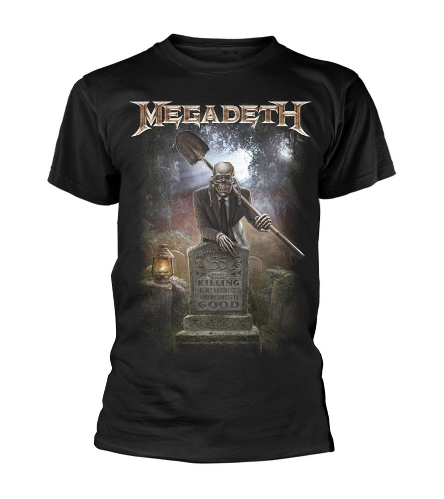 MEGADETH - 35 years graveyard - Talla M