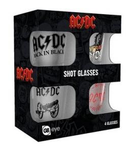 AC/DC - Vasos de chupito - MX