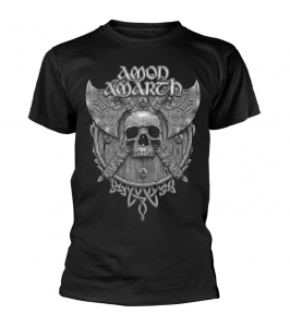 AMON AMARTH - Grey skull - TS