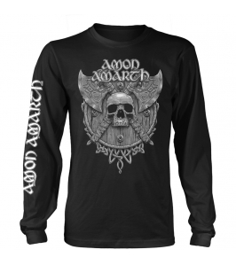 AMON AMARTH - Grey skull -...
